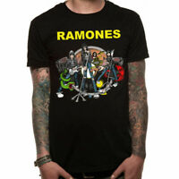 Official Ramones T Shirt Illo Punk Rock New Small