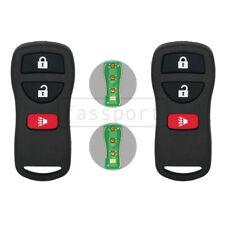2 New Keyless Entry Remote Control Key fit for NISSAN INFINITI KBRASTU15 3 BTN
