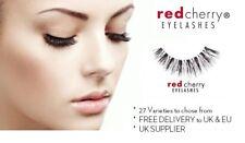 Mouse over image to zoom Red-Cherry-Natural-Fake-False-Eyelashes-Eye-Adhesives-