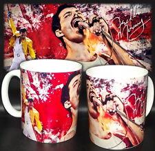 tazza mug music FREDDIE MERCURY queen rock scodella ceramica