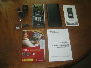 Texas Instruments Ti-nspire CX Handheld Color 3d Graphing Calculator Bundle