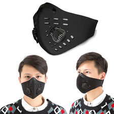 Outdoor Sports Face Mask Mouth Muffle Filter Activated Carbon Anti-dust Haze