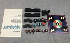 Milton Bradley Zaxxon Board Game Replacement Parts Lot Bricks Spinner 1983