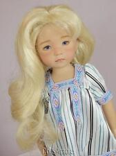 Beautiful Pale Blonde Doll Wig Size 7/8� Fits Vintage And Modern Dolls