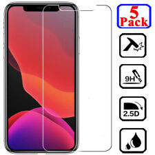 For iPhone 11 Pro XS Max XR X 6 7 8 Plus Premium Tempered Glass Screen Protector