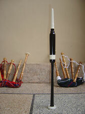 Scottish Bagpipe Wood Practice Chanter With  Reed - ROSEWOOD