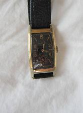 BULOVA WRISTWATCH - 17 JEWELS - GOLD FILLED CASE - CIRCA 1936 - WORKING