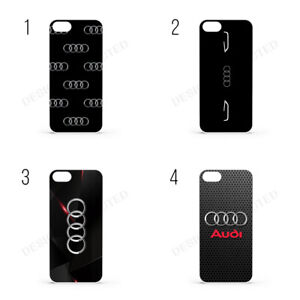 AUDI LOGO RS S Line  SPORTS CAR For iPhone Samsung Phone Case Cover Galaxy