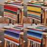 """Mexican Serape Table Runners 14x108"""" Tablecloth Wedding Fiesta Party Decoration"""