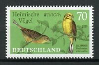 Germany Stamps 2019 MNH National Birds Europa Yellowhammer 1v Set
