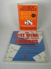 Crossword Puzzle Dictionary 6th Edition & Will Weng Crossword Puzzle Omnibus 1