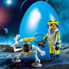 9416 Agente espacial con robot playmobil,egg
