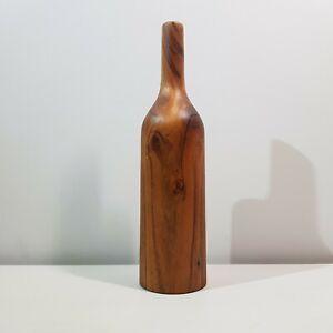Handmade Wooden Vase Hand Turned From Indian Rosewood Sheesham