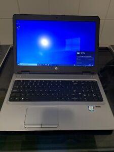 "HP PROBOOK 650 G2 15.6"" CORE i7 16GB RAM 256GB SSD WEBCAM WIN10"
