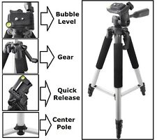 "Tripod 57"" Pro Series With Case For Canon XF105 XF100 XA10"