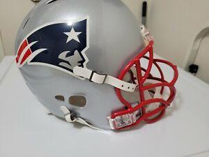 New England Patriots NFL Riddell Revolution Full Size Proline Helmet