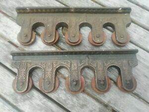 Victorian Iron Church Walking Stick Holder Stand Pool Snooker Cue Rack Antique