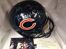 Anthony Thomas Chicago Bears NFL Autographed Signed Helmet W ROY A Train Inscrip