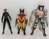 Vintage Toybiz 90's Marvel Uncanny X-Men Wolverine Action Figures 3