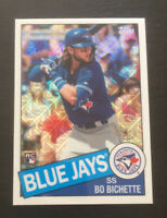 Bo Bichette 2020 Topps Series 1 Silver Pack Retro Rookie Refractor #85C-41  RC