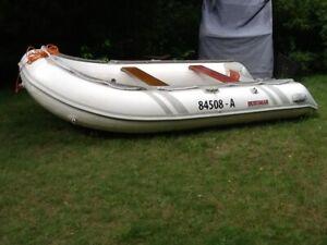 Schlauchboot Suzumar mit 15 PS Suzuki Viertaktmotor