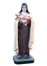 Saint Therese of Lisieux fiberglass statue cm. 160