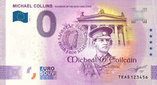 NEW! Commemorative 0 Euro Limited Edition Souvenir Banknote of Michael Collins