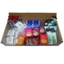 126pc Tea/Coffee Welcome Pack - Biscuits,Sugar,Milk