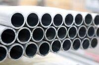 2 x 10ft Aluminium Scaffolding Tube, Scaffold, Handrail, Aerial Mast  Best Price
