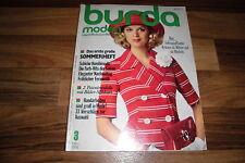 BURDA MODEN  # 3 / 1974 -- UMSTANDSMODE / JEANS-CHIC im SAFARI-STIL /für MOLLIGE
