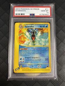 2003 Pokemon Skyridge Gyarados Non-Holo #11 PSA 10 Mint