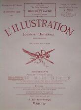 L' ILLUSTRATION 4424. 17/12/1927. La mission Duprez Fouquet en Afrique centrale.