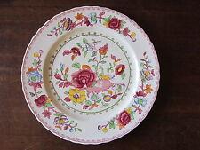 "MASON'S ""Regency"" Patent Ironstone China  Red  1920-30's  dinner plate 10.5"""