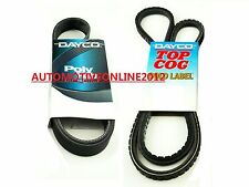 DAYCO DRIVE FAN BELT KIT for MITSUBISHI TRITON ML MN 2.5L 4D56T DIESEL 08/11-ON