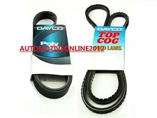 DRIVE FAN BELT KIT FOR ISUZU DMAX 3.0L 4CYL TURBO DIESEL 4JJ1-TC D-MAX 08-12