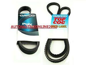 DRIVE FAN BELT KIT FOR ISUZU DMAX 3.0L 4CYL TURBO DIESEL 4JJ1-TCX D-MAX 2012-14