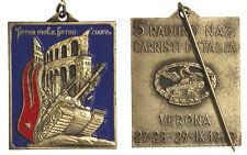 Medaglia Verona Carristi Italia 5° Raduno 1969  #MD1215