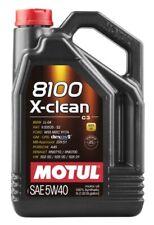 Aceite Motor Motul 8100 X-Clean 5W40 ACEA C3, 5 Litros