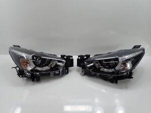 JDM 2018 Mazda 2 Demio DJ3FS DJ5FS DJ LED Headlights Lights Lamps Set OEM