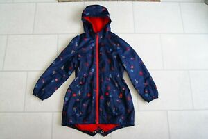 Girls Next Hooded Spring Raincoat Age 9 Years