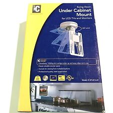 "HIGH QUALITY MADE IN USA UNDER CABINET LCD MOUNT 220 DEGREE SWIVEL 9-17"" BY IC"