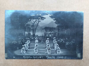 Royal Court Shakespeare Panto 1906/7 LIVERPOOL Old Real Photo Postcard
