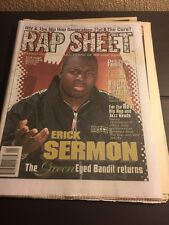Rap Sheet Magazine - Erick Sermon - Sept 1995 Vol.3, No. 9