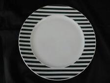 * 10 ASSIETTES PLATES  A DESSERT LAFAYETTE LONIA PORCELAINE 20 cm Ø
