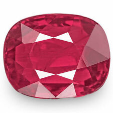 Cushion Eye Clean Loose Natural Rubies