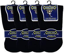 6 Pairs Mens Extra Wide Comfort Fit Diabetic Socks Poor Circulation 6-11 (160)