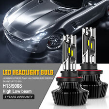 LED Headlight Bulbs 1400W H13 9008 High Low Beam Kit Driving For Jeep Truck 4WD