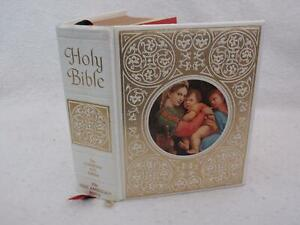 HOLY BIBLE New American Bible 1970 Catholic Press Christian Life Edition