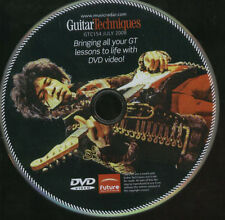 GUITAR TECHNIQUES Jimi Hendrix DVD BRINGING GT LESSONS TO LIVE GTC154 July 2008