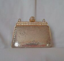 LILLY ROCKET Mini Gold Sequin Evening Bag/Purse